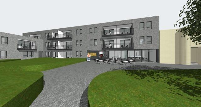 """Le projet """"Passage"""": 21 logements sociaux + salle commune – En exécution"""