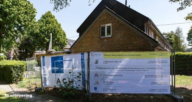 """Rénovation quartier """"Westveld"""" – En exécution"""