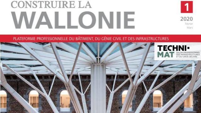 """Construire La Wallonie – Février/mars 2020: """"Réaffectation du couvent des Visitandines pour l'UMons: un véritable travail d'orfèvre"""""""