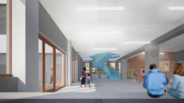 NOUVEAU CHANTIER: Transformation de l'école secondaire plurielle Karreveld – Molenbeek-St-Jean