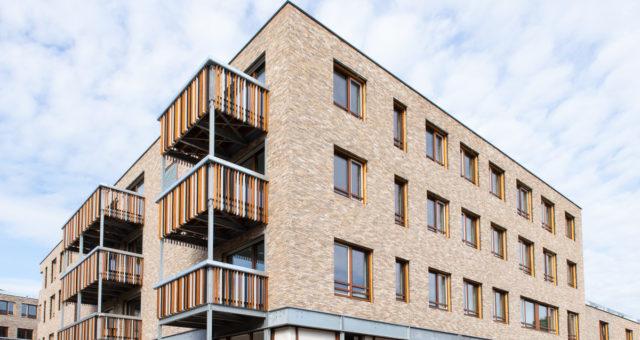 59 logements passifs, une crêche et parking – en exécution