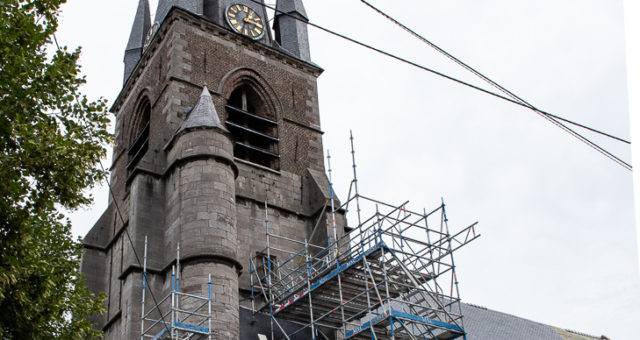 Restauration des toitures de l'Eglise Saint-Géry – Boussu – en exécution