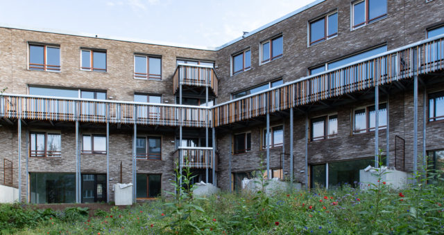 59 logements passifs, une crêche et parking