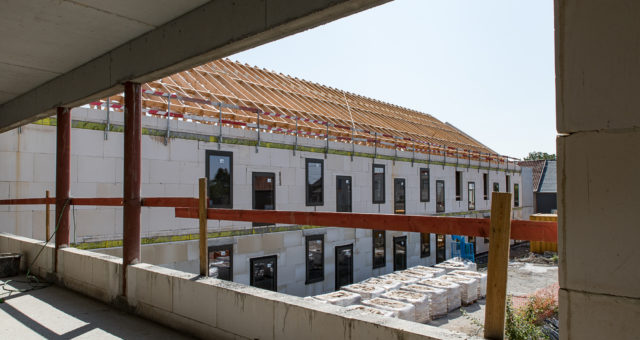 Ontwerp en bouw van rust- en verzorgingstehuis – in uitvoering