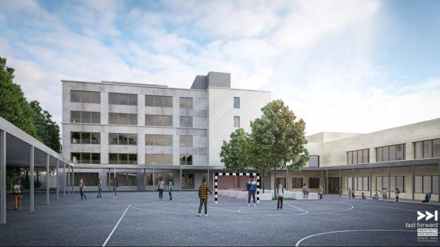 NIEUWE WERF: Renovatie en uitbreiding van schoolcampus Innova – Anderlecht