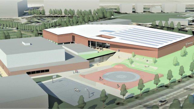 NIEUWE WERF: Sportdoze: nieuw zwembad, sporthal met gevechtssportzaal – Blankenberge