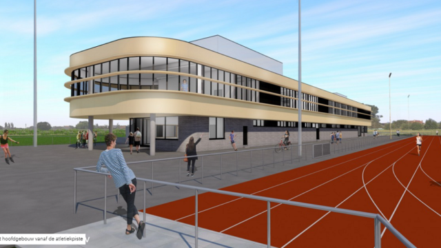 NIEUWE WERF: uitbouw van Sportpark Molenkouter te Merelbeke